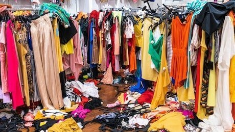 textilewaste. fast fashion